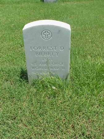 BILBREY (VETERAN 3 WARS), FORREST D - Pulaski County, Arkansas | FORREST D BILBREY (VETERAN 3 WARS) - Arkansas Gravestone Photos
