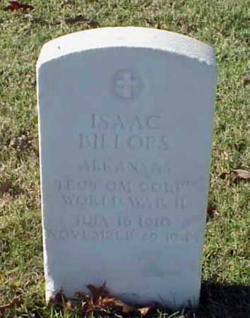 BILLOPS (VETERAN WWII), ISAAC - Pulaski County, Arkansas | ISAAC BILLOPS (VETERAN WWII) - Arkansas Gravestone Photos
