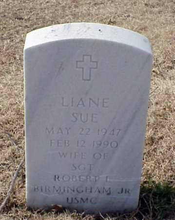 BIRMINGHAM, LIANE SUE - Pulaski County, Arkansas   LIANE SUE BIRMINGHAM - Arkansas Gravestone Photos