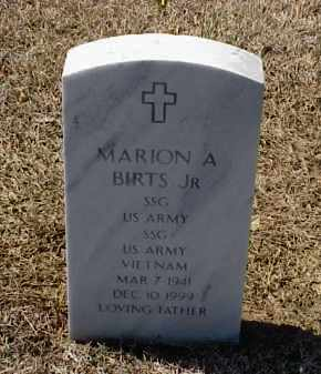 BIRTS, JR (VETERAN VIET), MARION A - Pulaski County, Arkansas | MARION A BIRTS, JR (VETERAN VIET) - Arkansas Gravestone Photos