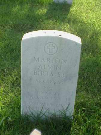 BIRTS, SR (VETERAN WWII), MARION ALVIN - Pulaski County, Arkansas | MARION ALVIN BIRTS, SR (VETERAN WWII) - Arkansas Gravestone Photos