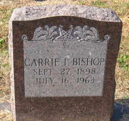 BISHOP, CARRIE I - Pulaski County, Arkansas | CARRIE I BISHOP - Arkansas Gravestone Photos