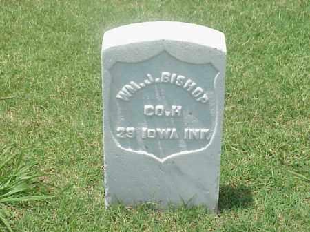 BISHOP (VETERAN UNION), WILLIAM J - Pulaski County, Arkansas | WILLIAM J BISHOP (VETERAN UNION) - Arkansas Gravestone Photos
