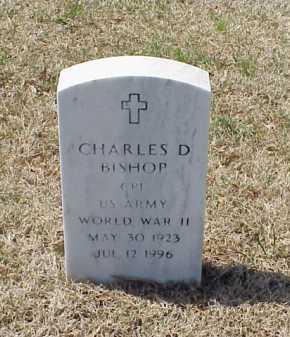 BISHOP (VETERAN WWII), CHARLES D - Pulaski County, Arkansas   CHARLES D BISHOP (VETERAN WWII) - Arkansas Gravestone Photos