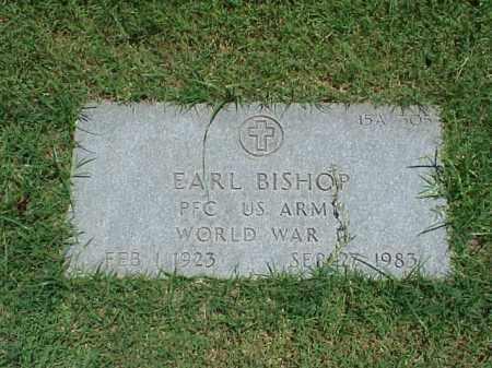 BISHOP (VETERAN WWII), EARL - Pulaski County, Arkansas | EARL BISHOP (VETERAN WWII) - Arkansas Gravestone Photos