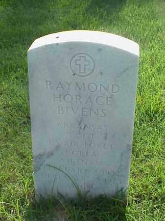 BIVENS (VETERAN 2 WARS), RAYMOND HORACE - Pulaski County, Arkansas   RAYMOND HORACE BIVENS (VETERAN 2 WARS) - Arkansas Gravestone Photos