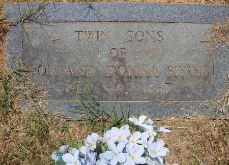 BIVINS, TWIN SON - Pulaski County, Arkansas | TWIN SON BIVINS - Arkansas Gravestone Photos