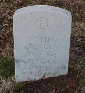 BLACK  (VETERAN WWI), FLOYD D - Pulaski County, Arkansas   FLOYD D BLACK  (VETERAN WWI) - Arkansas Gravestone Photos