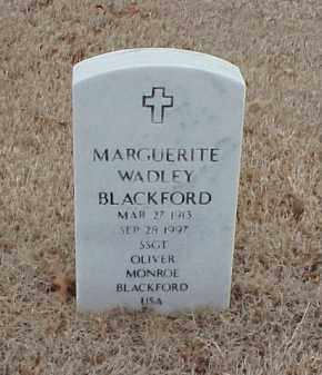 BLACKFORD, MARGUERITE - Pulaski County, Arkansas | MARGUERITE BLACKFORD - Arkansas Gravestone Photos