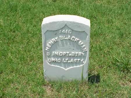 BLACKMAN (VETERAN UNION), HENRY - Pulaski County, Arkansas | HENRY BLACKMAN (VETERAN UNION) - Arkansas Gravestone Photos