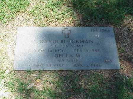 BLACKMAN (VETERAN WWII), DAVID - Pulaski County, Arkansas | DAVID BLACKMAN (VETERAN WWII) - Arkansas Gravestone Photos