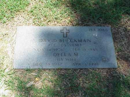 BLACKMAN, DELLA M - Pulaski County, Arkansas | DELLA M BLACKMAN - Arkansas Gravestone Photos