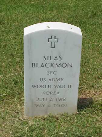 BLACKMON (VETERAN 2 WARS), SILAS - Pulaski County, Arkansas   SILAS BLACKMON (VETERAN 2 WARS) - Arkansas Gravestone Photos