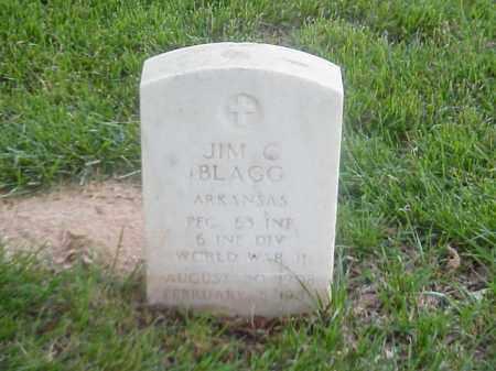 BLAGG (VETERAN WWII), JIM C - Pulaski County, Arkansas | JIM C BLAGG (VETERAN WWII) - Arkansas Gravestone Photos