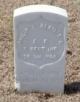 BLAISDELL  (VETERAN SAW), PHILIP E - Pulaski County, Arkansas   PHILIP E BLAISDELL  (VETERAN SAW) - Arkansas Gravestone Photos
