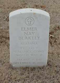 BLAKELY  (VETERAN WWII), ELMER NAY - Pulaski County, Arkansas | ELMER NAY BLAKELY  (VETERAN WWII) - Arkansas Gravestone Photos