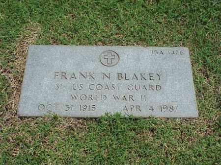 BLAKEY (VETERAN WWII), FRANK N - Pulaski County, Arkansas | FRANK N BLAKEY (VETERAN WWII) - Arkansas Gravestone Photos