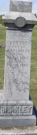 BLAKLEY, BETTIE - Pulaski County, Arkansas   BETTIE BLAKLEY - Arkansas Gravestone Photos
