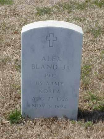 BLAND, JR (VETERAN KOR), ALEX - Pulaski County, Arkansas   ALEX BLAND, JR (VETERAN KOR) - Arkansas Gravestone Photos