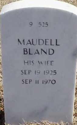 BLAND, MAUDELL - Pulaski County, Arkansas | MAUDELL BLAND - Arkansas Gravestone Photos