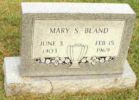 BLAND, MARY S. - Pulaski County, Arkansas | MARY S. BLAND - Arkansas Gravestone Photos