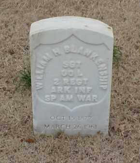 BLANKENSHIP  (VETERAN SAW), WILLIAM H - Pulaski County, Arkansas | WILLIAM H BLANKENSHIP  (VETERAN SAW) - Arkansas Gravestone Photos