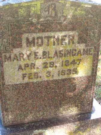 BLASINGAME, MARY ELIZABETH - Pulaski County, Arkansas | MARY ELIZABETH BLASINGAME - Arkansas Gravestone Photos