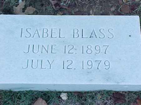 BLASS, ISABEL - Pulaski County, Arkansas | ISABEL BLASS - Arkansas Gravestone Photos