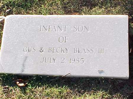 BLASS, INFANT SON - Pulaski County, Arkansas   INFANT SON BLASS - Arkansas Gravestone Photos