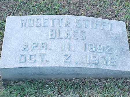 BLASS, ROSETTA - Pulaski County, Arkansas | ROSETTA BLASS - Arkansas Gravestone Photos