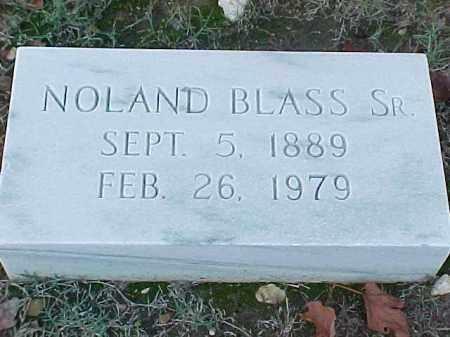 BLASS, SR, NOLAND - Pulaski County, Arkansas   NOLAND BLASS, SR - Arkansas Gravestone Photos