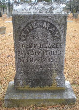 BLAZER, ITTIE MAY - Pulaski County, Arkansas | ITTIE MAY BLAZER - Arkansas Gravestone Photos