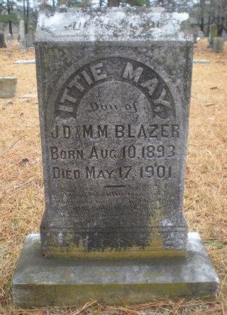 BLAZER, ITTIE MAY - Pulaski County, Arkansas | ITTIE MAY BLAZER - Arkansas Gravestone Photos