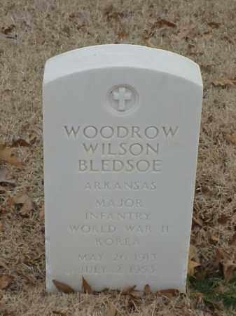 BLEDSOE (VETERAN 2 WARS), WOODROW WILSON - Pulaski County, Arkansas | WOODROW WILSON BLEDSOE (VETERAN 2 WARS) - Arkansas Gravestone Photos
