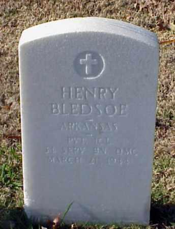 BLEDSOE (VETERAN WWI), HENRY - Pulaski County, Arkansas | HENRY BLEDSOE (VETERAN WWI) - Arkansas Gravestone Photos