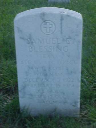 BLESSING (VETERAN 3 WARS), SAMUEL E - Pulaski County, Arkansas   SAMUEL E BLESSING (VETERAN 3 WARS) - Arkansas Gravestone Photos