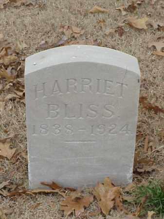 BLISS, HARRIET - Pulaski County, Arkansas | HARRIET BLISS - Arkansas Gravestone Photos