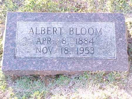 BLOOM, ALBERT - Pulaski County, Arkansas   ALBERT BLOOM - Arkansas Gravestone Photos