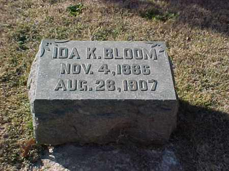 BLOOM, IDA K - Pulaski County, Arkansas | IDA K BLOOM - Arkansas Gravestone Photos
