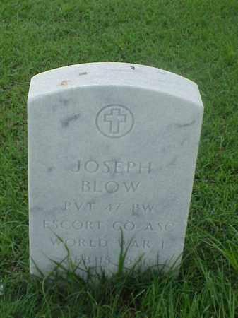 BLOW (VETERAN WWI), JOSEPH - Pulaski County, Arkansas   JOSEPH BLOW (VETERAN WWI) - Arkansas Gravestone Photos