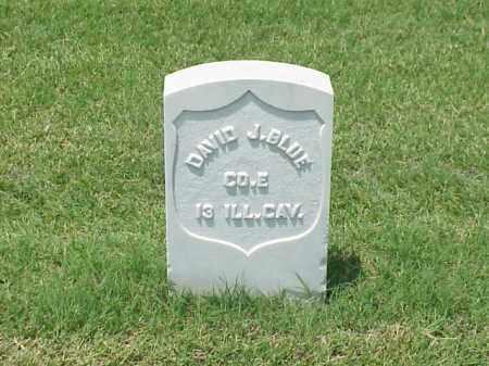 BLUE (VETERAN UNION), DAVID J - Pulaski County, Arkansas   DAVID J BLUE (VETERAN UNION) - Arkansas Gravestone Photos