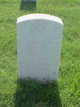 BLUFORD (VETERAN), WILLIE KING - Pulaski County, Arkansas | WILLIE KING BLUFORD (VETERAN) - Arkansas Gravestone Photos