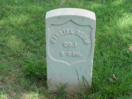 BLUM (VETERAN UNION), GABRIEL - Pulaski County, Arkansas | GABRIEL BLUM (VETERAN UNION) - Arkansas Gravestone Photos