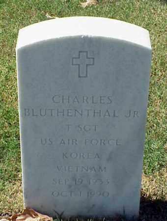 BLUTHENTHAL, JR (VETERAN 2 WAR, CHARLES - Pulaski County, Arkansas | CHARLES BLUTHENTHAL, JR (VETERAN 2 WAR - Arkansas Gravestone Photos