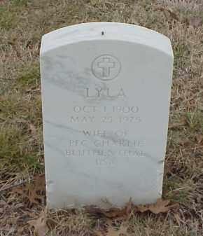 BLUTHENTHAL, LYLA - Pulaski County, Arkansas | LYLA BLUTHENTHAL - Arkansas Gravestone Photos