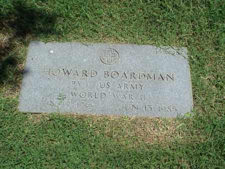 BOARDMAN (VETERAN WWII), HOWARD - Pulaski County, Arkansas | HOWARD BOARDMAN (VETERAN WWII) - Arkansas Gravestone Photos