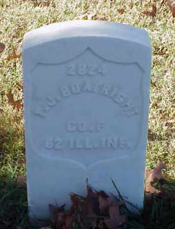 BOATRIGHT (VETERAN UNION), T J - Pulaski County, Arkansas | T J BOATRIGHT (VETERAN UNION) - Arkansas Gravestone Photos