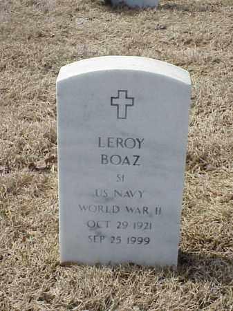 BOAZ  (VETERAN WWII), LEROY - Pulaski County, Arkansas | LEROY BOAZ  (VETERAN WWII) - Arkansas Gravestone Photos
