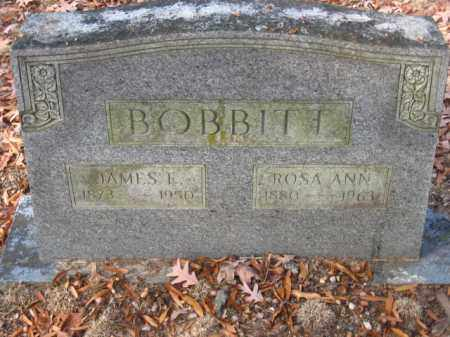 BOBBITT, JAMES F - Pulaski County, Arkansas | JAMES F BOBBITT - Arkansas Gravestone Photos
