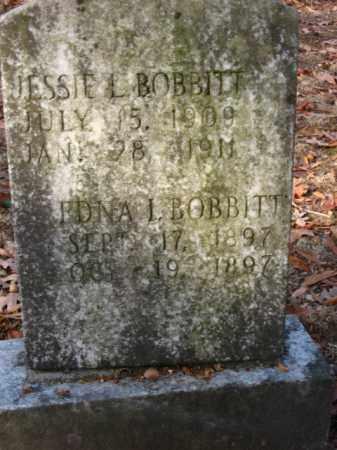 BOBBITT, JESSIE L - Pulaski County, Arkansas | JESSIE L BOBBITT - Arkansas Gravestone Photos